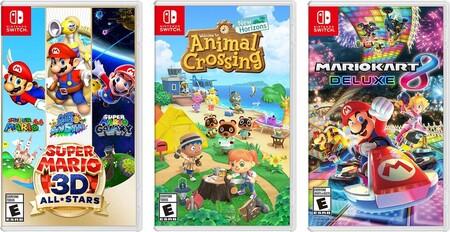 Videojuegos para Nintendo Switch de oferta en Amazon México
