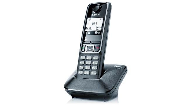 Gigaset A420, un teléfono bastante correcto para no olvidarnos del fijo en casa