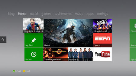 Todas las novedades de la actualización de Xbox, con Internet Explorer, Xbox Music y más