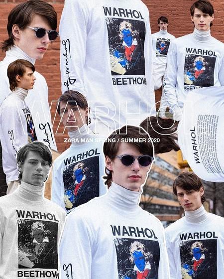 El arte pop invadirá la calle con la colección de Zara en tributo a Andy Warhol