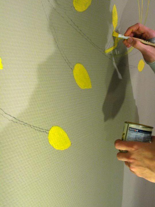 Foto de Pinta pared con proyector (3/4)