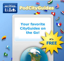 Más de 300 guías de viaje gratis para el iPod