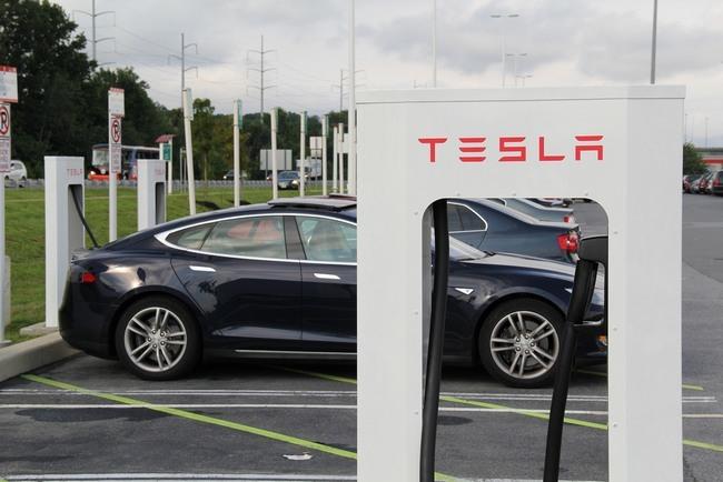 Tesla Ecotricity Supercargador