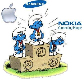 Samsung es el líder en ventas de smartphones
