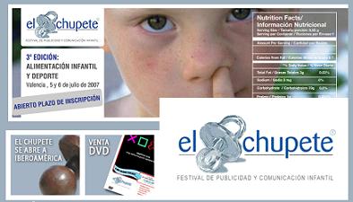 El Chupete 2007, Festival de Publicidad y Comunicación Infantil