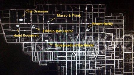Zona Hollywood en L.A. Noire