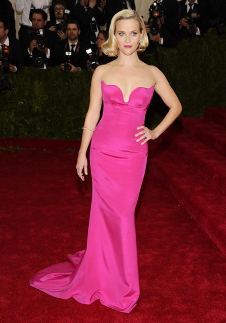 Reese Witherspoon de Stella McCartney Gala MET 2014