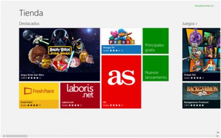 Las Apps para Windows 8 de la semana: El País, eFactura Online, Los 40 Principales y Vogue