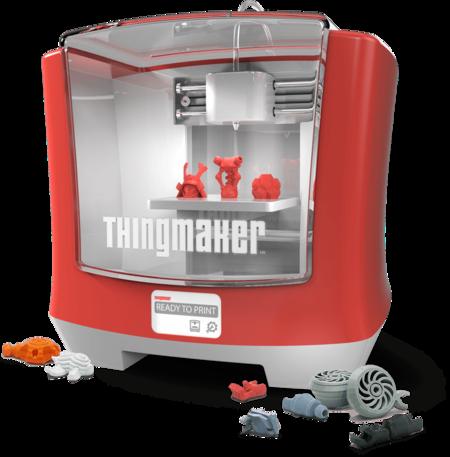 Mattel y Autodesk han creado una impresora 3D para los más pequeños: ThingMaker 3D