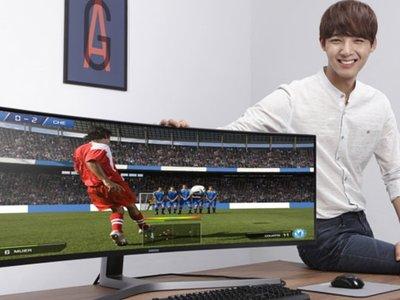 ¿Un monitor de 49 pulgadas? Samsung lo ha presentado orientado a los videojuegos y además es ultrapanorámico