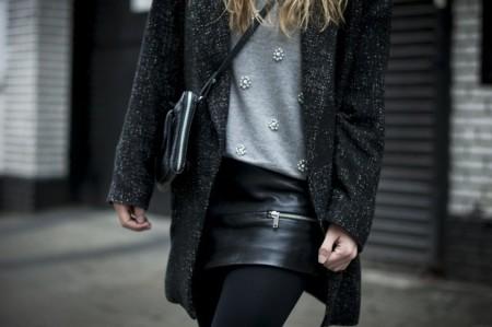 Las prendas con pedrería, la tendencia que se ha apoderado del street style