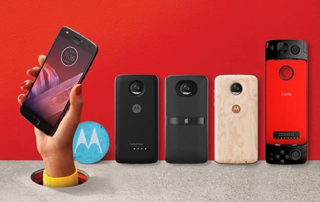 El Moto™ Z2 Play llega a España(pais) acompañado de 4 recientes Moto™ Mods a partir de agosto