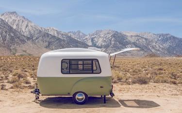 Con esta preciosa minicaravana, te apetecerá recorrer el mundo como un nómada