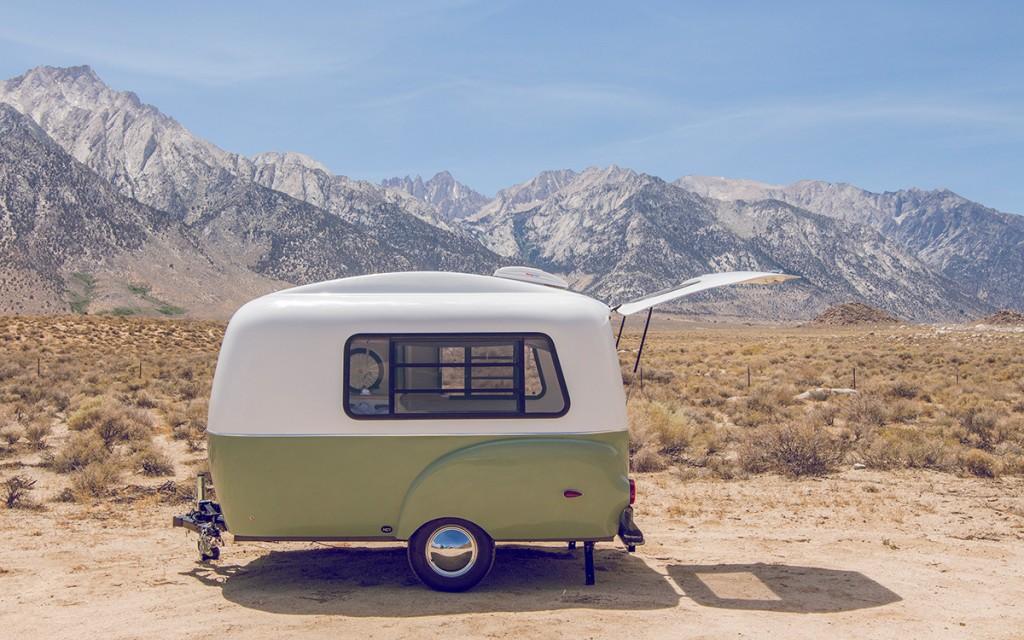 Happier Camper Hc1 >> Con esta preciosa minicaravana, te apetecerá recorrer el ...