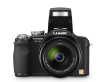 Panasonic Lumix DMC-FZ18, con zoom 18x