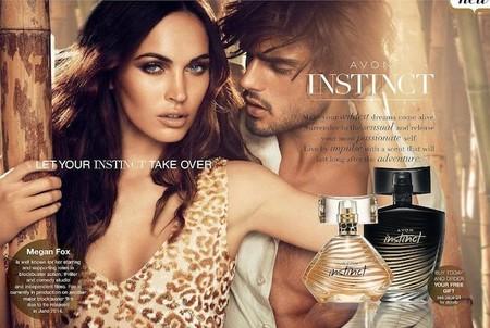 Megan Fox es la nueva imagen del perfume Instinct de Avon