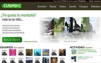 Cuspidis, red social para los amantes de la montaña