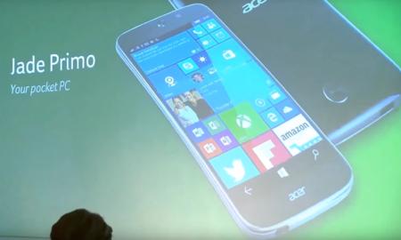 Acer Jade Primo, el primer smartphone con Windows 10 que podrá convertirse en un PC