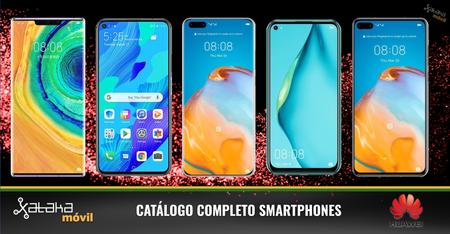 Huawei P40, P40 Pro y P40 Pro+, así encajan dentro del catálogo completo de smartphones Huawei en 2020
