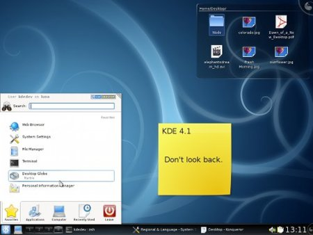 KDE 4.1 liberado oficialmente