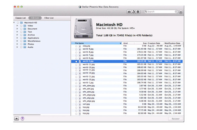 Mac Data Recovery 6