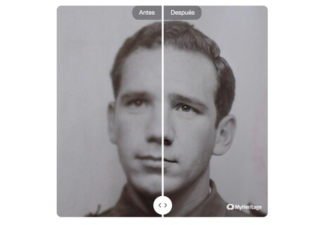 """Probamos MyHeritage, una web gratuita que dice tener la mejor tecnología de restauración de fotos con IA: así es su """"magia"""""""