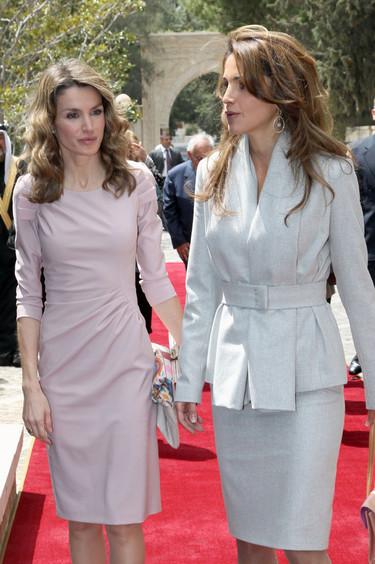 Clonando a una reina: busca las 11 diferencias entre Letizia Ortiz y Rania de Jordania