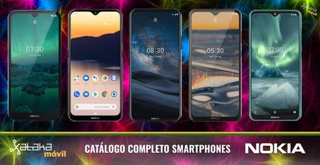 Nokia 8.3, Nokia 5.3 y Nokia 1.3, así encajan dentro del catálogo completo de móviles Nokia en 2020