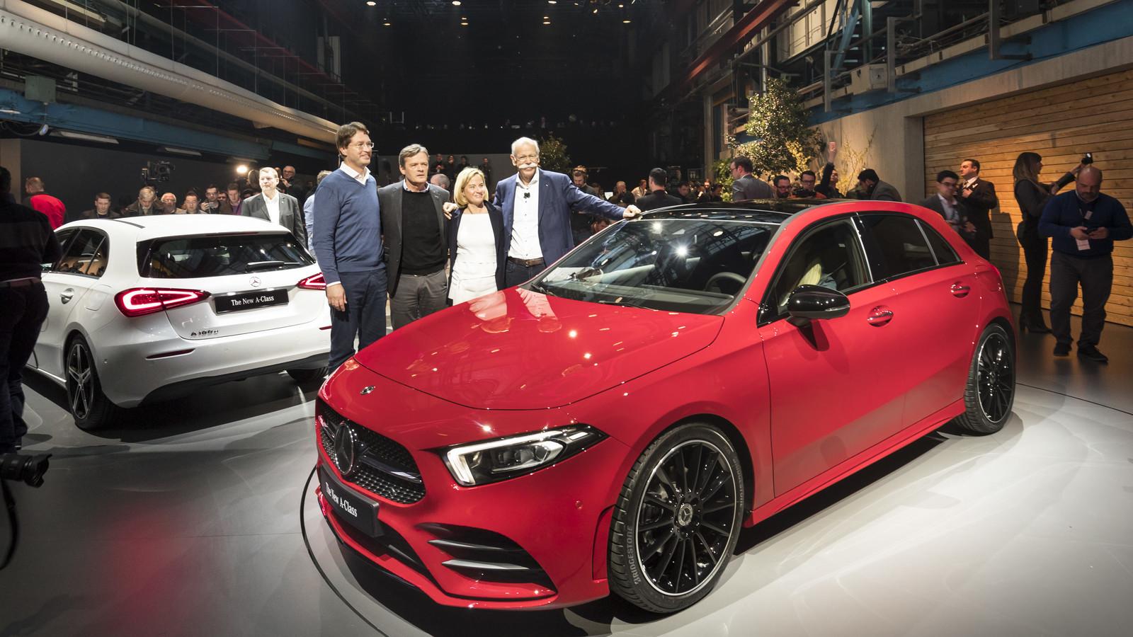 Foto de Mercedes-Benz Clase A 2018 - presentación (37/114)