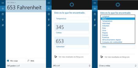 Conversor Cortana