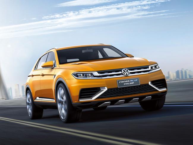 Volkswagen CrossBlue Coupé Concept