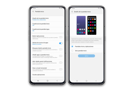 Samsung Galaxy A80 Pantalla Inicio