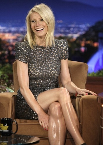 ¿Qué tiene Gwyneth Paltrow en las piernas?