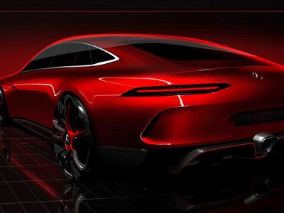 El Mercedes-AMG GT Concept nos enseña el culo, ¿así será el anti-Panamera Sport Turismo?