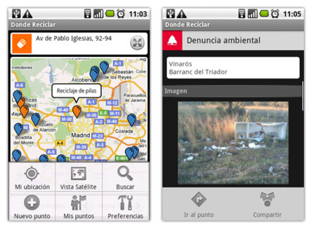 Dondereciclar, reciclaje 2.0 de la mano de Android