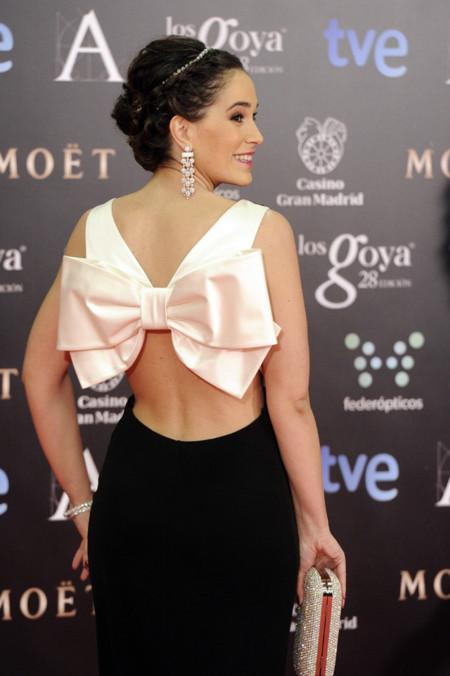 Premios Goya 2014 vestidos con escotes en la espalda. Celia Frejeiro de Paule Ka
