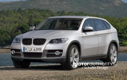Recreación del BMW X6