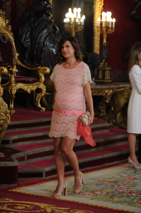 Isabel recepcion Felipe VI Letizia