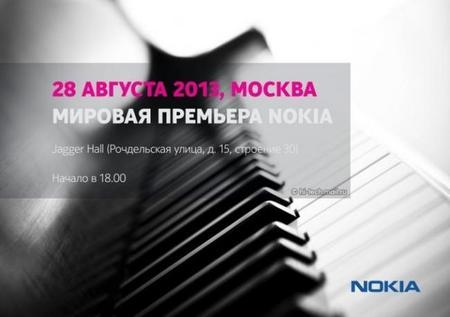 Nokia anuncia un nuevo evento es Moscú para el 28 de Agosto
