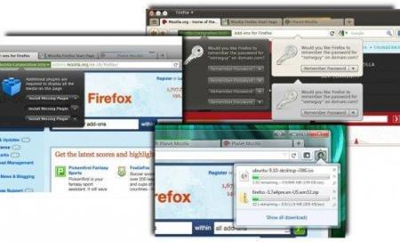 Imágenes del posible aspecto de Firefox 4.0