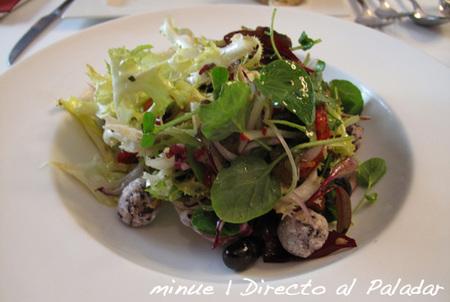restaurante delicat - ensalada de pimientos asados