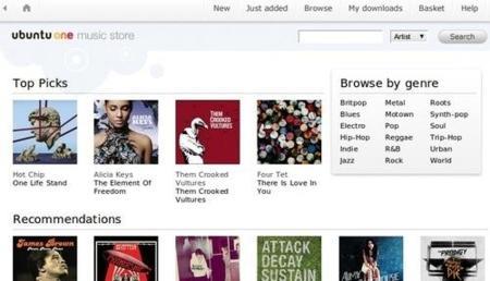 Ubuntu One Music Store, la tienda musical de Ubuntu