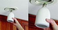 Audio Light Bulb, bombilla y altavoz