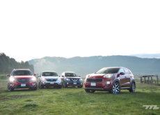 Comparativa: KIA Sportage vs Mazda CX-5 vs Honda CR-V vs Nissan X-Trail (IV)