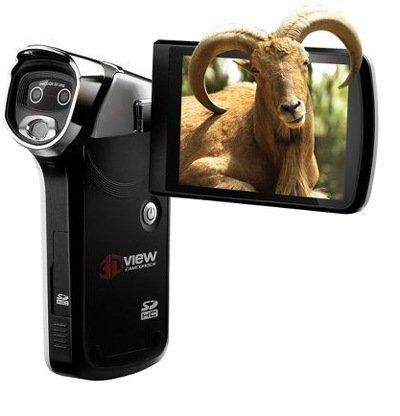 Hammacher Schlemmer se anima con la primera videocámara portátil que graba en 3D