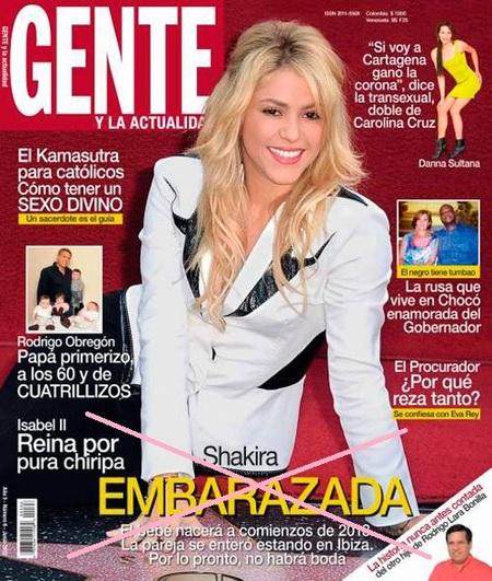 El padre de Shakira está hasta los mismísimos... su niña NO está embaraza, ¡¿vale?!