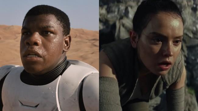 Los primeros planos de los trailers de Star Wars