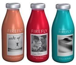 Firefly, zumos y extractos de hierbas saludables