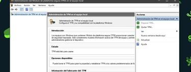 Qué es el TPM y cómo comprobar si tu ordenador lo tiene para poder instalar Windows 11