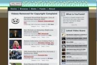 YouTomb, vigilando los vídeos que han sido eliminados de YouTube